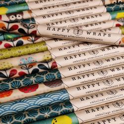 Happy Wraps l'emballage alimentaire réutilisable