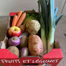Petite panier de fruits et légumes Nos Saveurs de France