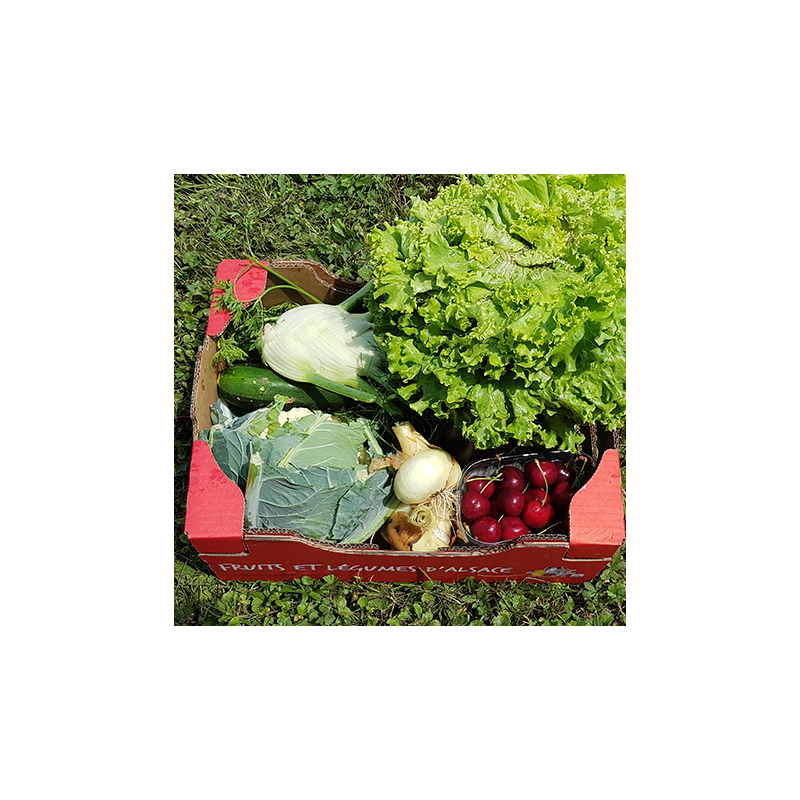 Le Panier de la Semaine, les légumes d'Été arrivent. Nos Saveurs de France
