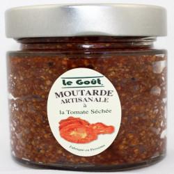 Moutarde artisanale à la Tomate séchée et Vinaigre balsamique