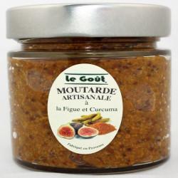 Moutarde artisanale à la Figue et au Curcuma