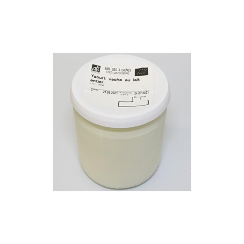 Fromage blanc au lait cru de vache bio