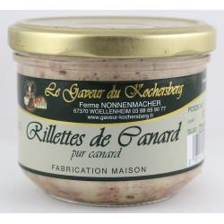 Rillettes de Canard d'Alsace du Gaveur du Kochersberg