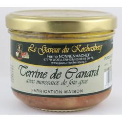 Terrine de Canard avec morceaux de Foie Gras