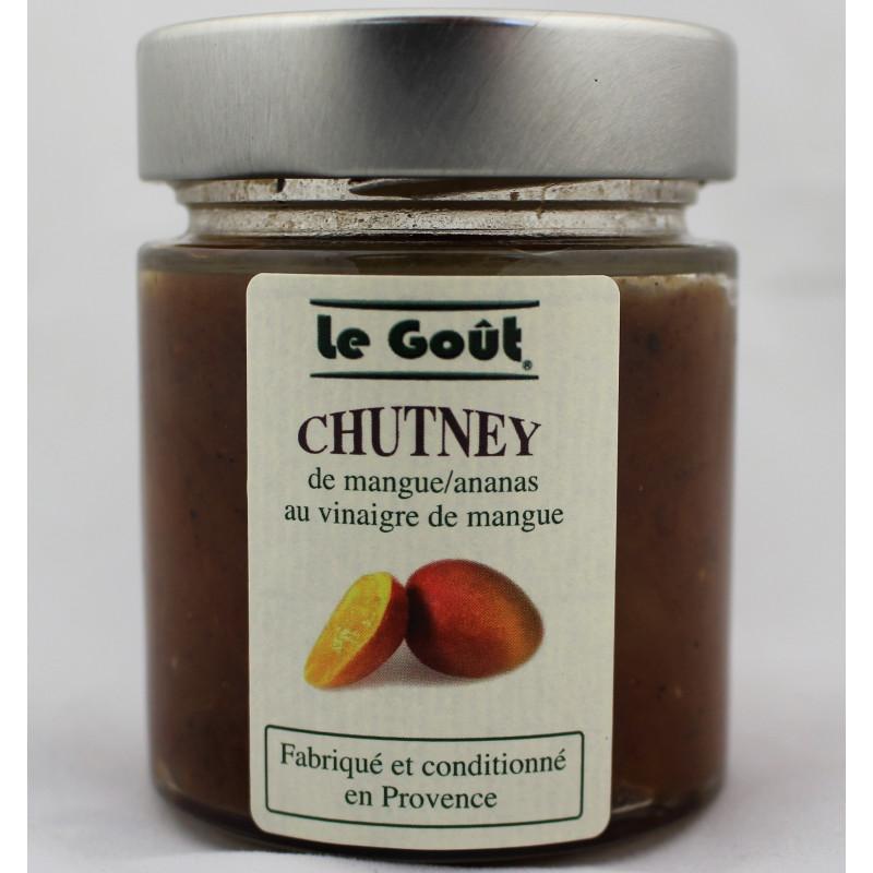 Chutney à la Mangue et à l'Ananas