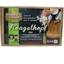 Préparation pour Kougelhopf salé
