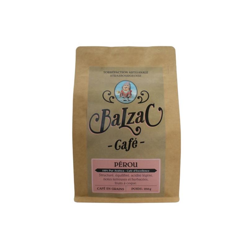 Café BALZAC origine Pérou