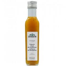 Vinaigre de Pulpe Fruit De La Passion Et Poivre De Maniguette