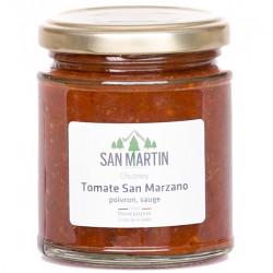 Chutney Tomate San Marzano Poivron Rouge