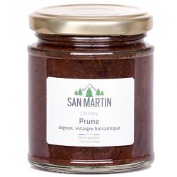Chutney Prune Oignon Vinaigre Balsamique