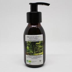 Flacon pompe huile  pure de chanvre Bio