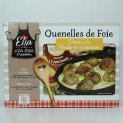 Quenelles de Foie sauce à la Moutarde à l'Ancienne