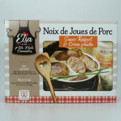 Noix de Joues de Porc sauce Raifort et Crème fraiche