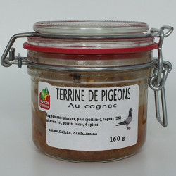 Terrine de pigeon au cognac