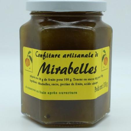 Confiture artisanale de Mirabelle