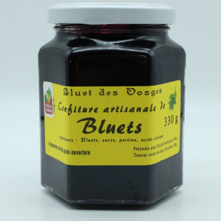 Confiture artisanale de Bluets