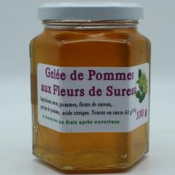 Gelée de Pomme aux fleurs de Sureau