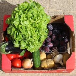 panier de fruits et légumes d'Alsace