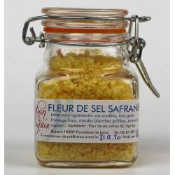Fleur de sel Safrané