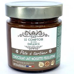 Chocolat Lait Noisette Feuilletine