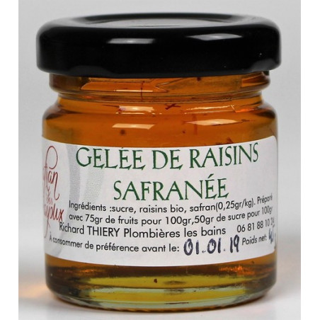 Gelée de Raisins Safranée