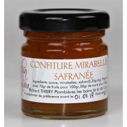 Confiture de Mirabelles Safranées