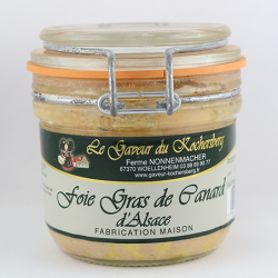 Foie gras  de canard conserve Nos Saveurs de france