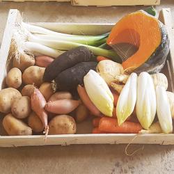 Panier légumes d'hiver. Nos Saveurs de France