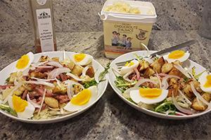 Salade de Pissenlit choucroute Nos Saveurs de France